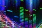 music swirls