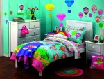 ✿ Vibrant girl bedroom ✿