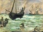 Edouard Manet - A Seascape (1873)