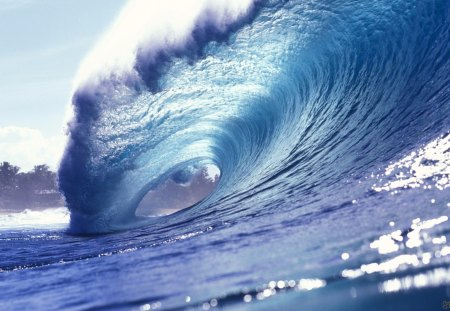 Surfing Wave Oceans Nature Background Wallpapers On