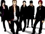 Madara, Sousuke, Lucifer, Xanxus, Shanks