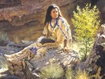 BEAUTIFUL NATIVE WOMAN