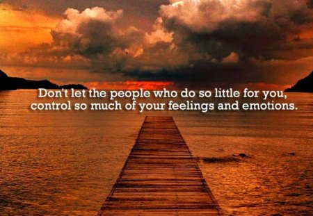 Don't let people control you - saying, life, people, quote, control