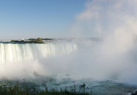 Horseshoe Falls - horseshoe, falls, water, breathtaking