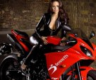 girl and yamaha r1
