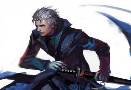 Vergil - Ninja Theory Concept Art - vergil, cool, warrior, devil may cry