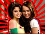 miley and selena bffs!!