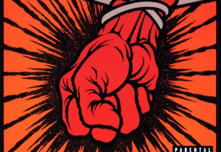 Metallica S St Anger Album Cover Music Entertainment