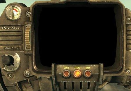 Pip-Boy 3000 - pipboy, fallout 3