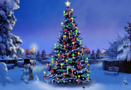 3D Christmas Tree - Other & Entertainment Background Wallpapers on ...