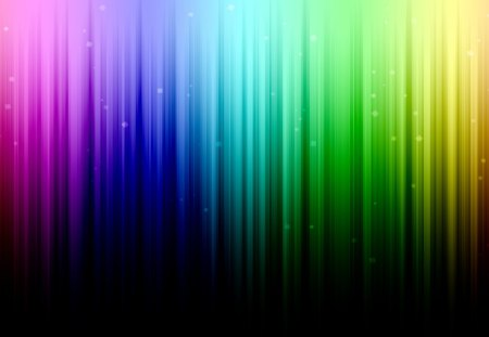 Abstract Rainbow - pulze, dots, rainbow, abstract, sparkle, fantasy, dark, stripe, simple, color, colour, light, many