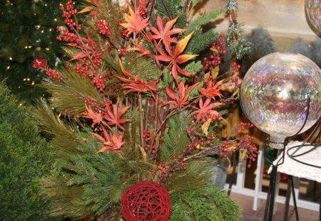 Christmas Flower Decorations.Christmas Flower Decorations 53 Flowers Nature