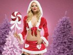 ღ.Attractive Santa Girl.ღ