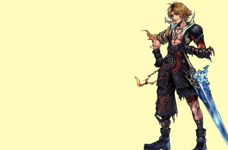 Tidus - tidus, cool, warrior, video game, final fantasy