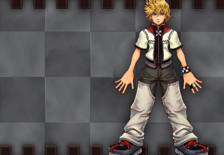 Roxas - video game, cool, boy, kingdom hearts