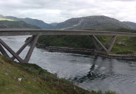 Laxford Bridge - Scotland - highlands, lochs, scotland, laxford bridge