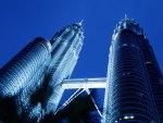 petronas towers, skyscrapers, kuala lumpur