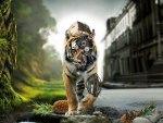 mechanical tiger