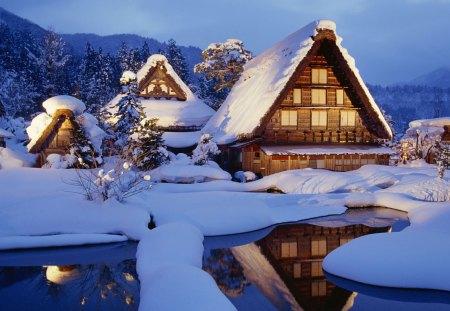 Beautiful Snowy Winterscape