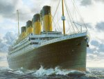 Titanic Sailing On The Sea