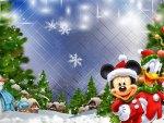 Mickeys Christmas Village
