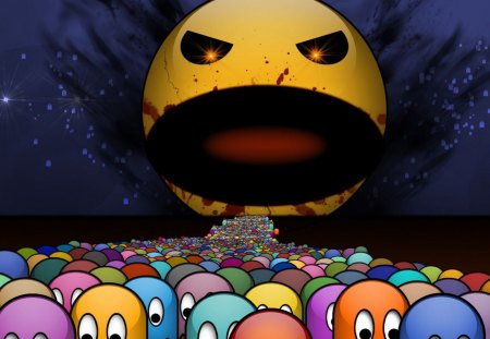 Giant Pacman Other Video Games Background Wallpapers On Desktop Nexus Image 1255069
