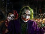 Joker with his wife