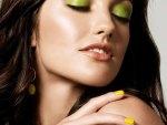 Minka Kelly hot trandy make-up look