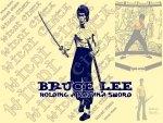 Bruce Lee - Katana Sword - Samurai Spirit