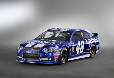 Lowes - gm, bowtie, nascar, blue