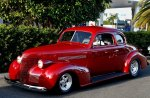 1939 chevy coupe red