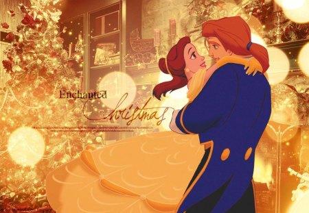 Belle And Adam Disney Princess Christmas
