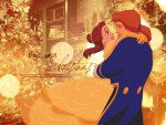 Belle And Adam Disney Princess Christmas