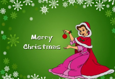 Disney Princess Belle Christmas