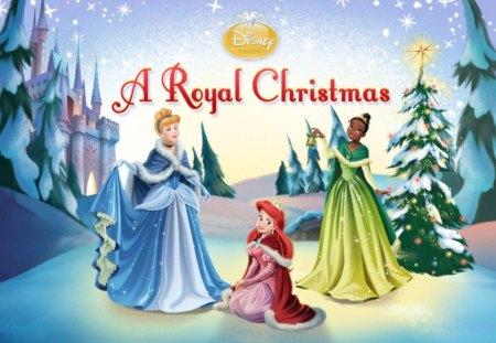 Christmas Princess.Blue Disney Princess Christmas Movies Entertainment