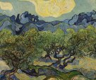 Vincent Willem Van Gogh - Landscape With Olive Trees