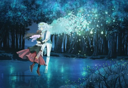 Fantasy Couple Other Amp Anime Background Wallpapers On