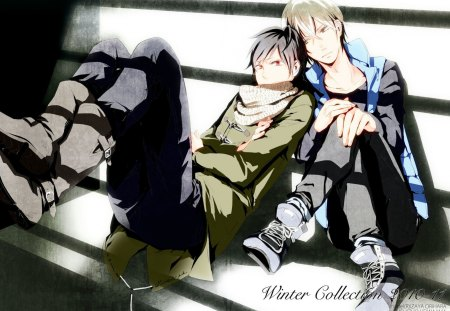 New fashion - durarara, cute, yaoi, shizuo, izaya