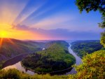 Earth River Sunset