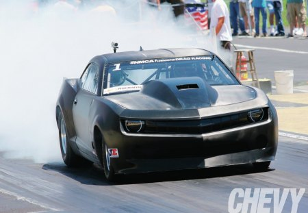 Carbon Camaro - gm, black, smoke, bowtie