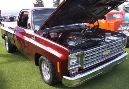 1979 Chevrolet Silverado truck 454 SS - Chevrolet & Cars Background