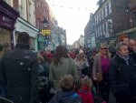 Dickensian market at Rochester