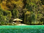 hidden cove in palawan philippines