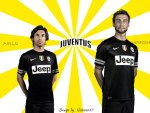 JUVENTUS PIRLO AND MARCHISIO