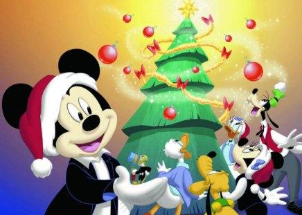 disney christmas and new year christmas