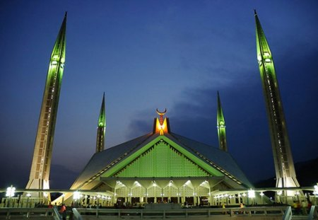 Faisal Mosque Islamabad Other Architecture Background