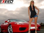 Hot Girl....Hotter Car