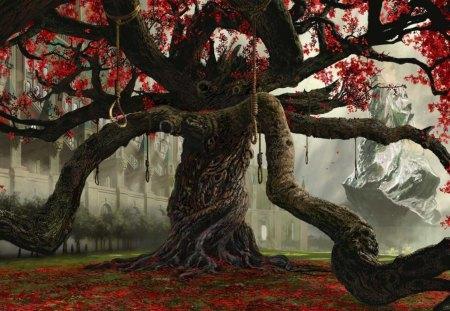Tree Of Dead - fantasy, dead, tree, of