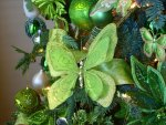 Green butterfly ornament for my lovely friend Margarita