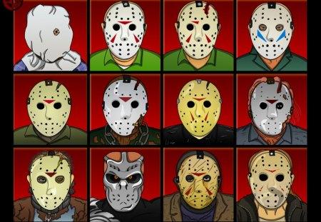 Jason Voorhees Evolution Movies Entertainment Background